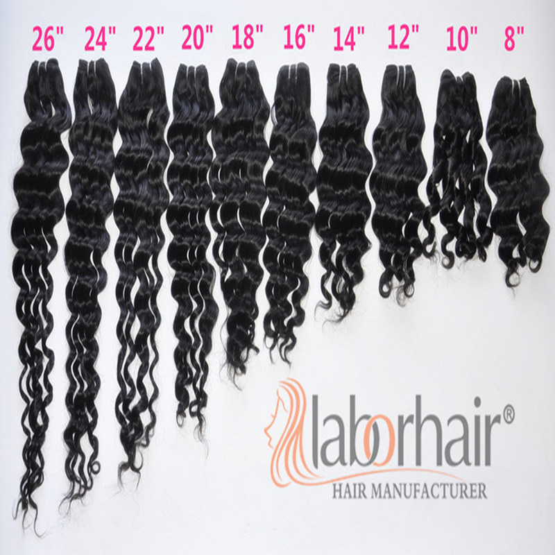 9A Labor Hair Products Brazilian Hair Weave Bundles Deep Wave Virgin Hair 105g/Piece Top Human Hair Weave Bundles