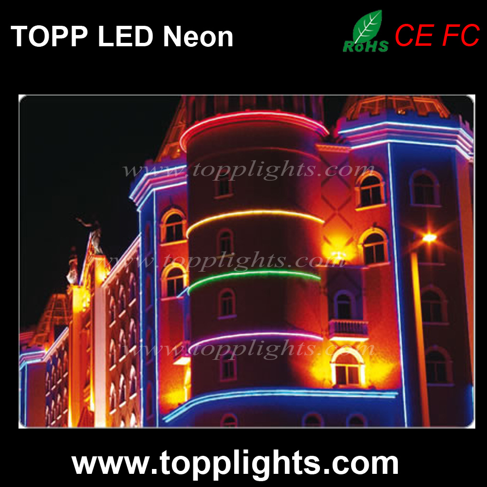 230V 120V LED Neon Flexible Tube for Building Decoration