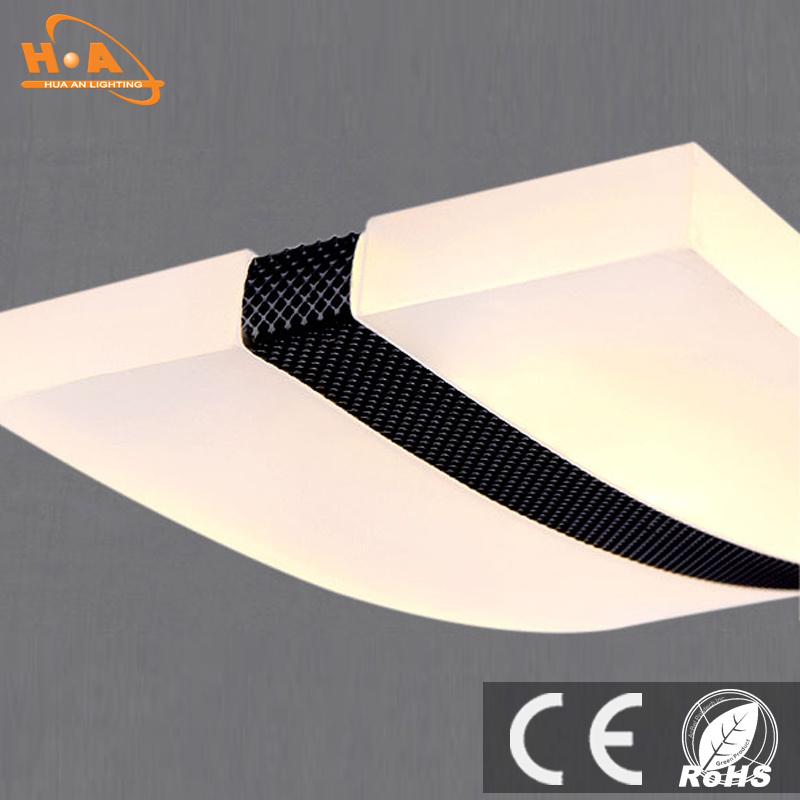 Curve Shape Decoration Hanging LED Commercial Pendant Light