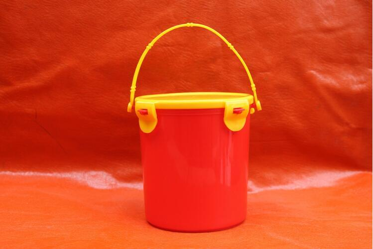 1L Lock Lid PP Small Bucket for Food Fresh Keeping