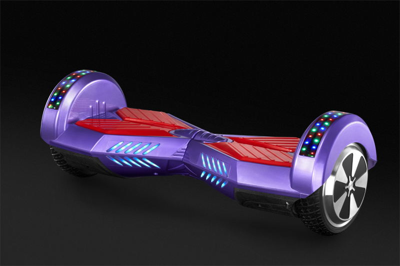 6.5 Inch Balance Scooter Hoverboard with Bluetooth Speaker LED Lights