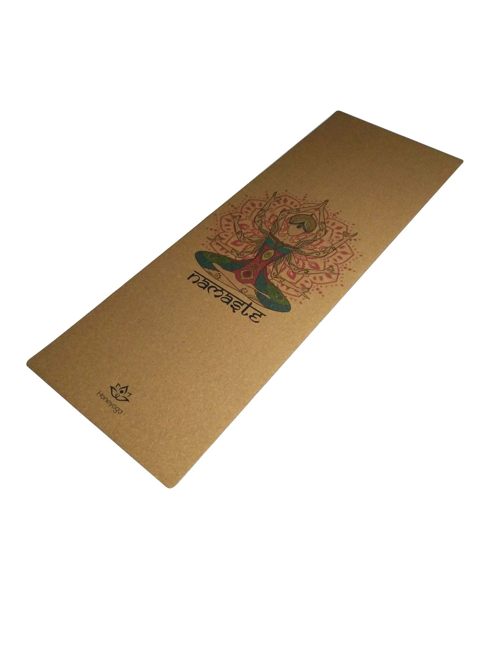 Travel Cork Yoga Mat + Natural Rubber Portable Light Ultimate Non-Slip Yoga Mats