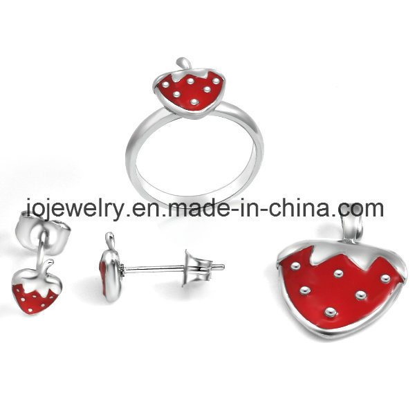 Lucky Baby Stainless Steel Jewelry Sets