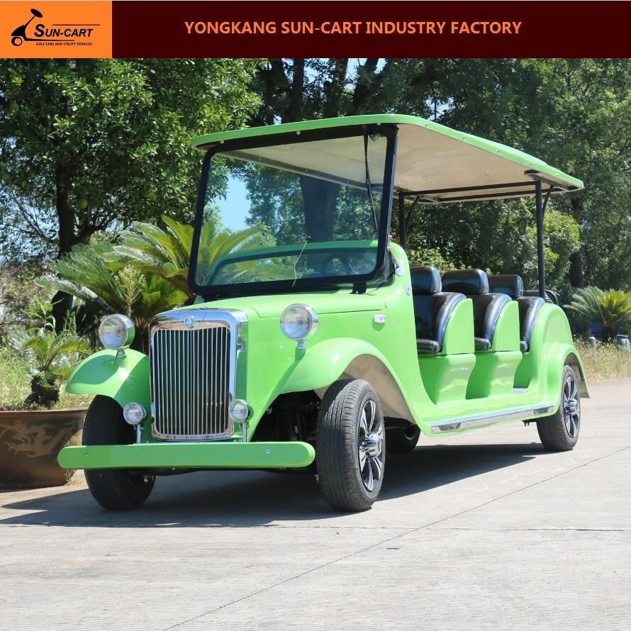 8 Passenger Electric Vintage Vehicle (Utility car)