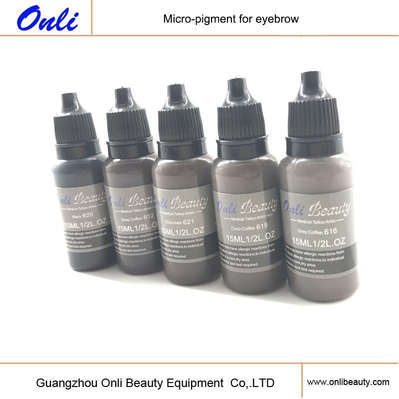 Pure Natural Pigments for Permanent Makeup