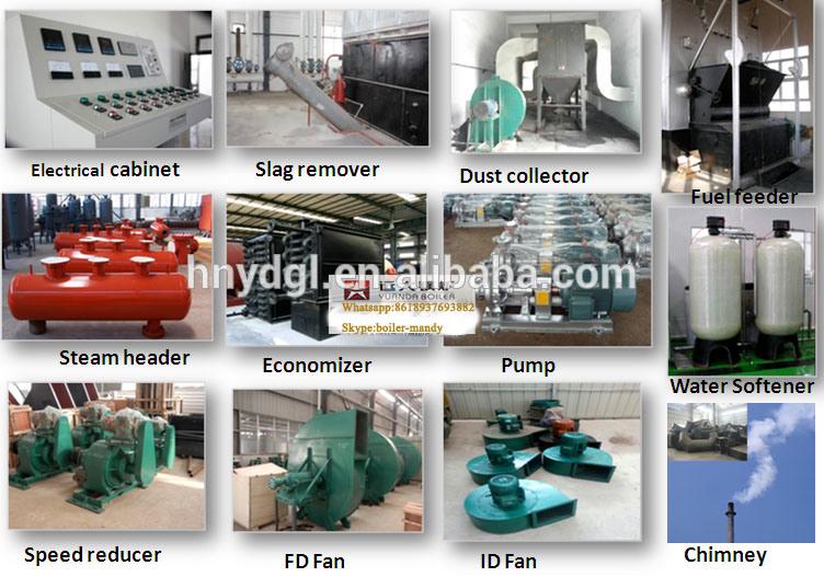 1ton/H 2ton/H 4ton/H 6ton/H 8ton/H 10ton/H Biomass Coal Pellet Husk Solid Fired Double Drum Industrial Steam Boiler