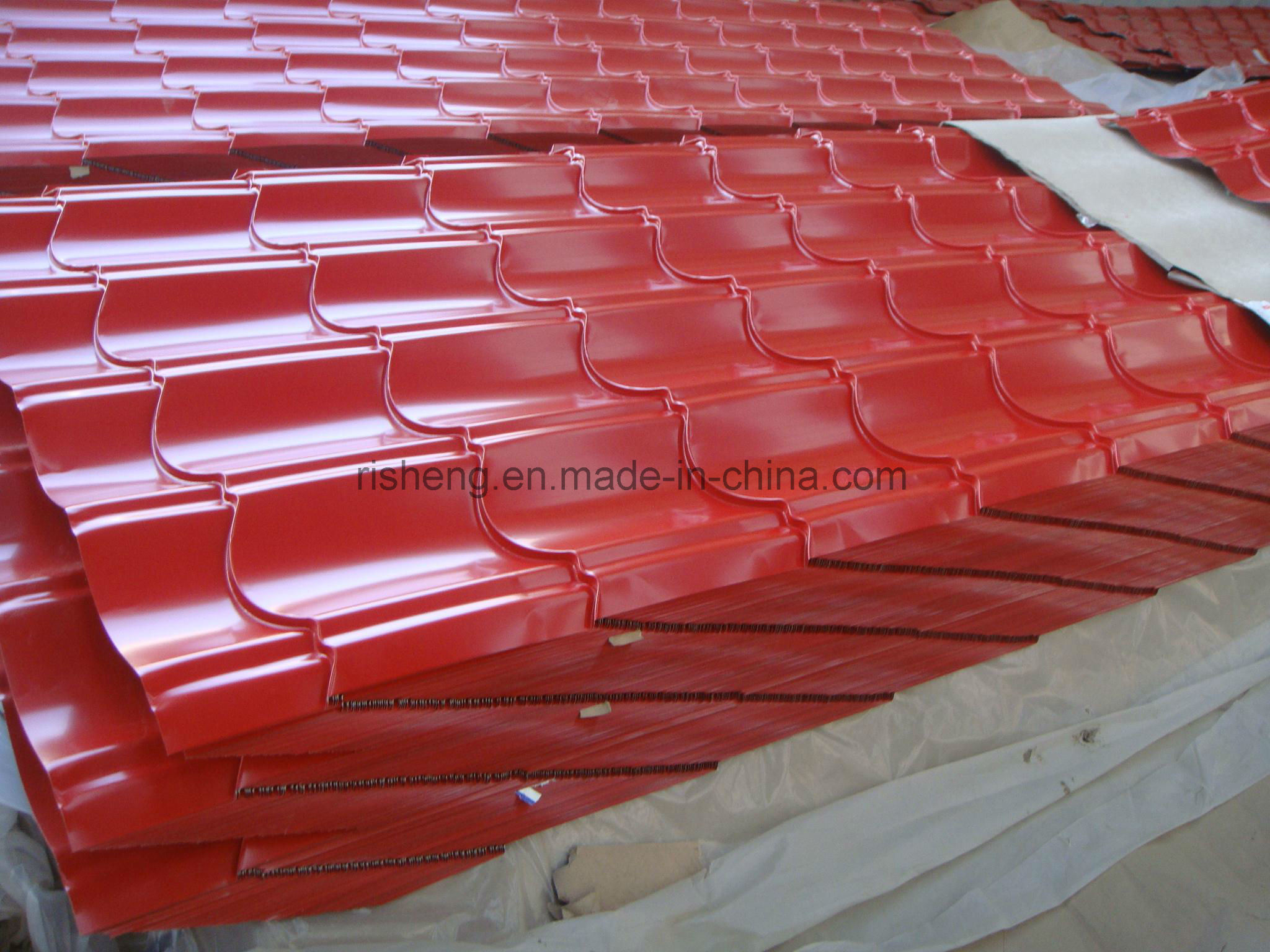 Hot DIP Galvanized Steel Roofing Tiles