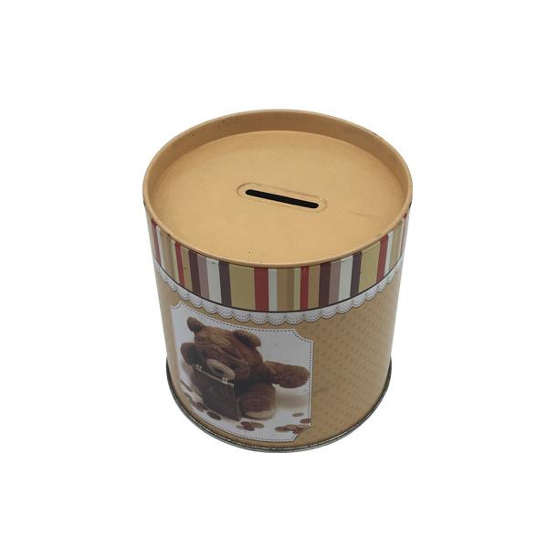Custom Tin Coin Money Box Piggy Bank Wholesale