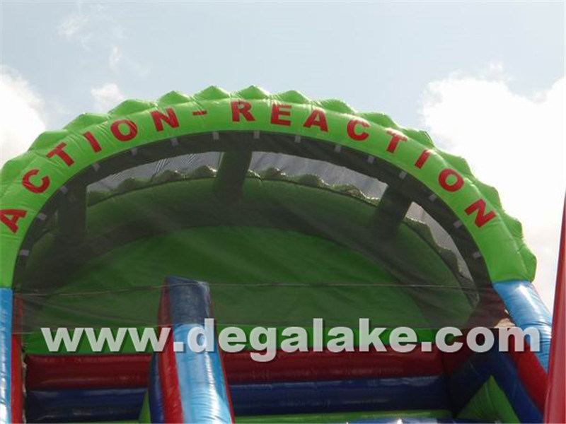 "Inflatable Half Pipe ""U"" Water Slide/ New Style Inflatable Slide"