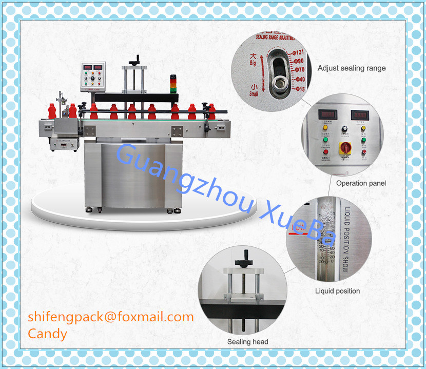 Water Cooling Automatic Bottle Sealing Machine