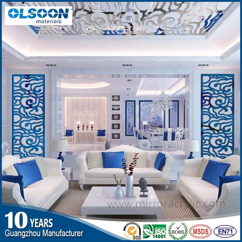 Olsoon Customized Home Wall Mirror Decoration Living Room Bedroom Decoration