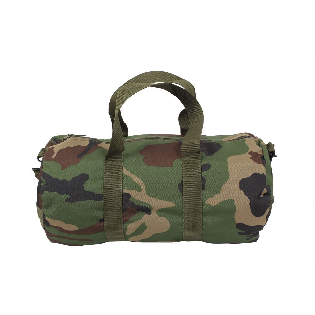 Camouflage Woodland Camo Wholesale Overnight Men Sports Tote Duffle Bag