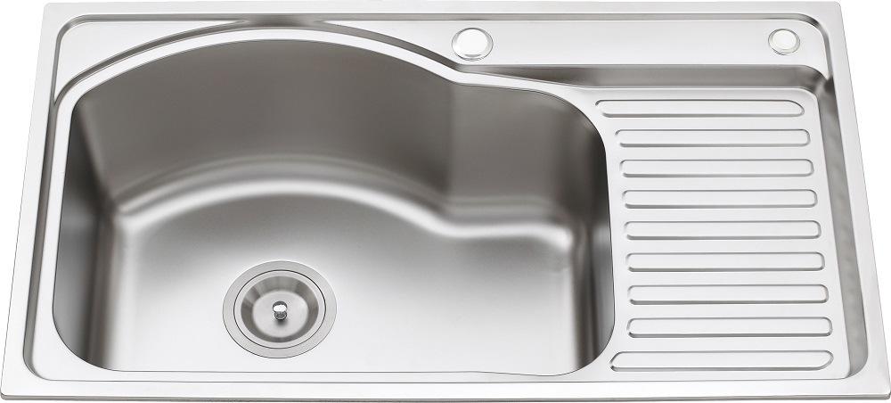 L5610 S. S Pressing Single Bowl Kitchen Sink