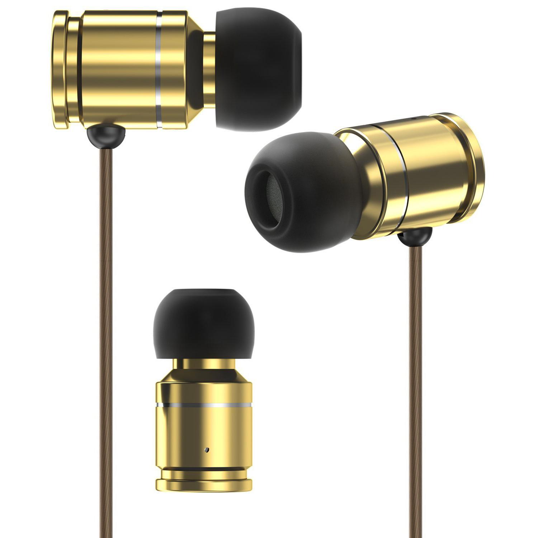 in-Line Microphone Stereo Bass Sport Earphone for Travel Running Men