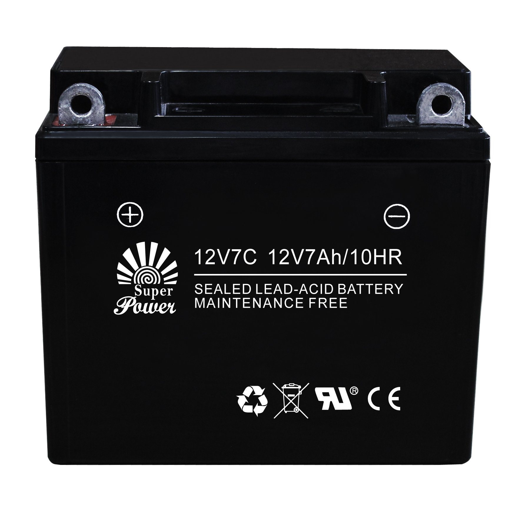 VRLA Motorcycle Battery 12V 7ah with CE UL Certificate Called 12V7C