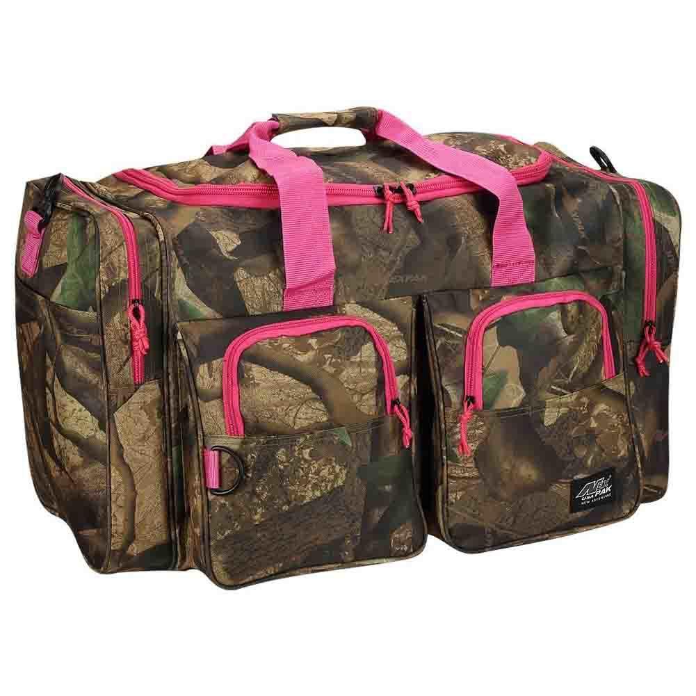 Camouflage Woodland Camo Wholesale Overnight Men Sports Tote Duffle Bag