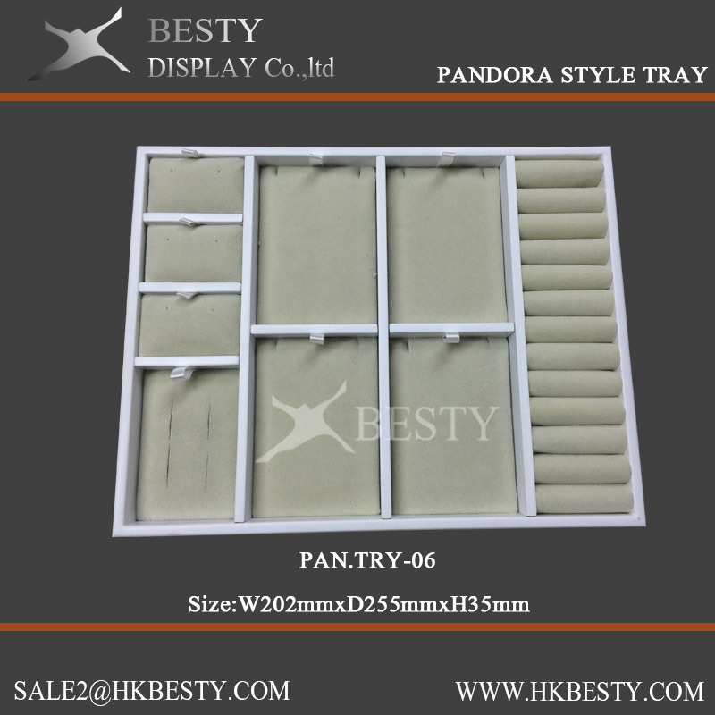 Customized Jewelry Chram Display Tray