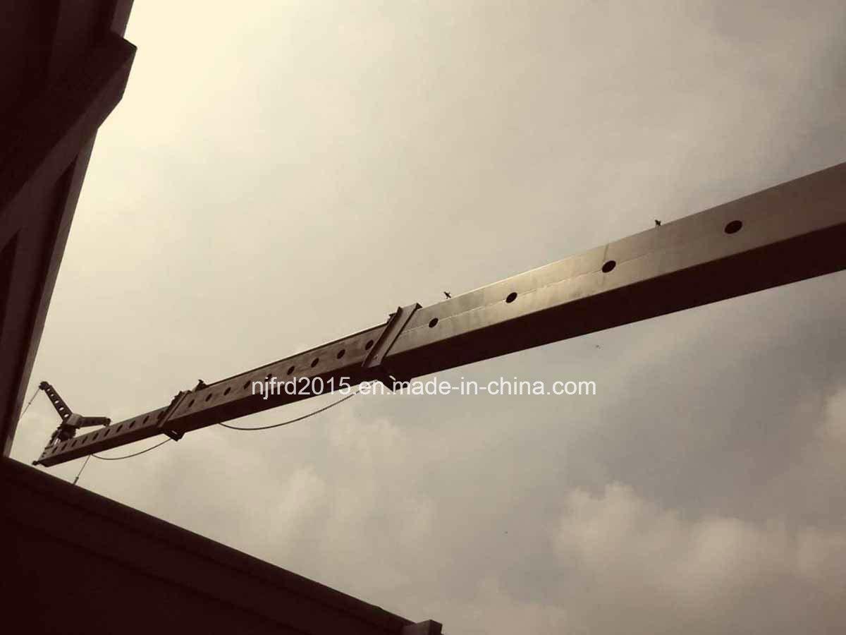 Nfjupiter Models with Telescopic Mast Building Maintenance Units Bmu