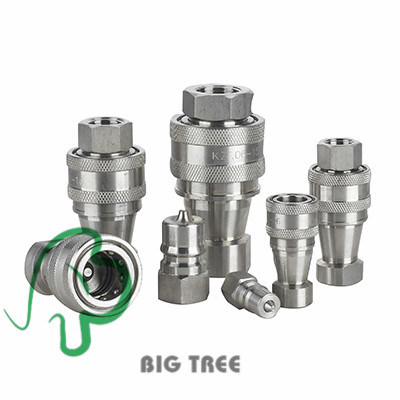 (KZE-B) High Pressure Quick Coupling Hydraulic Quick Coupler