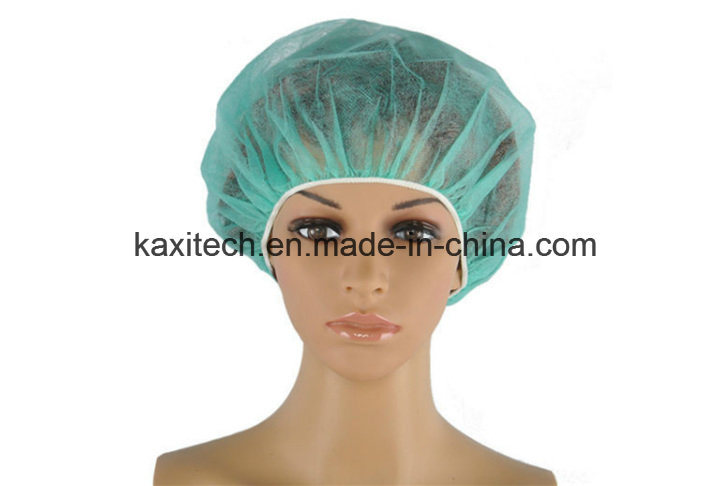 Surgical Disposable Nonwoven Nurse Cap/ Bouffant Head Cover