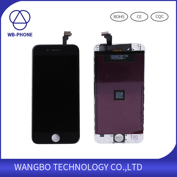 2016 New LCD Display Touch Screen Digitizer Assembly with Stable Frame Repair Parts for iPhone 6