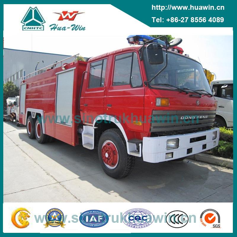 Dongfeng Cummins 6*4 Heavy Duty Water-Foam Fire Truck