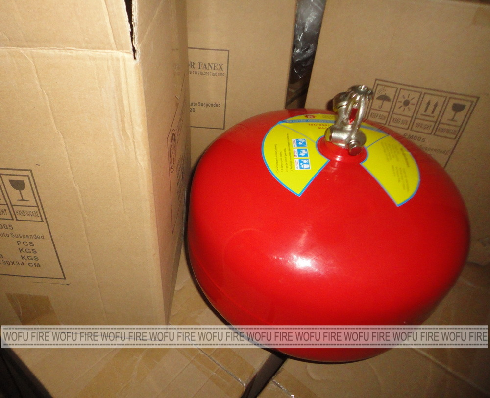 8kg ABC Dry Chemical Powder Automatic Fire Extinguisher