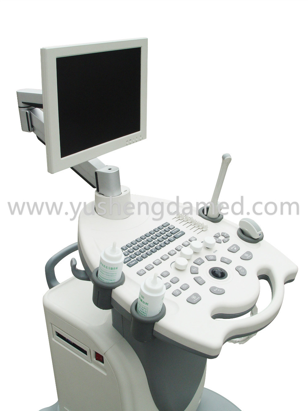 3D/4D Full Digital Medical Ultrasonic Trolley Color Doppler Ultrasound System