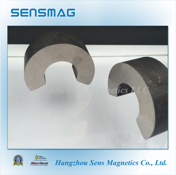 Manufacture Customized Permanent AlNiCo Magnet with C Shaped