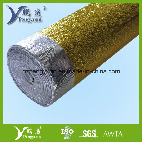 Metallized Pet VMPET Backed Expanded Poly Foam Thermal Insulation