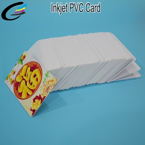 Factory Price White Glossy Inkjet Blank PVC ID Card for Epson Inkjet Printer with Coating