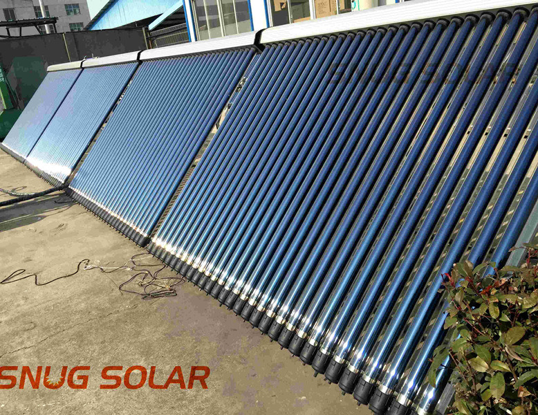 Solar Collector Hot Water Project for Hotel, Swimming Pool