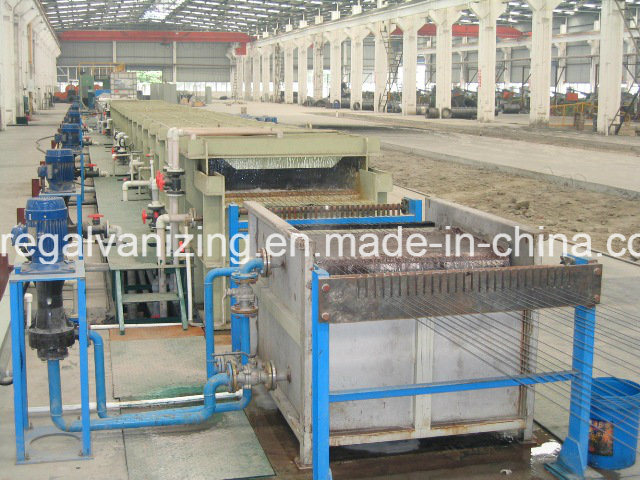 Steel Wire Pay-off Pickling Annealing Take-up Production Line