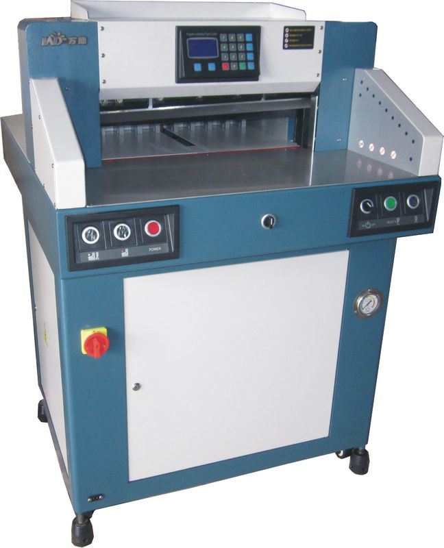 (WD-4908F) Hydraulic Programing Paper Guillotine