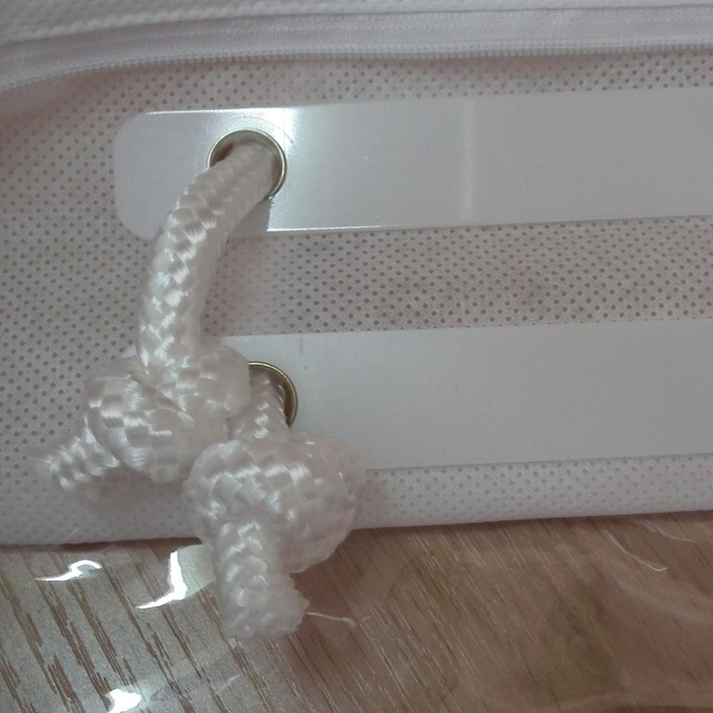 Cotton Rope Non Woven PVC Transparent Quality Pillow Bag