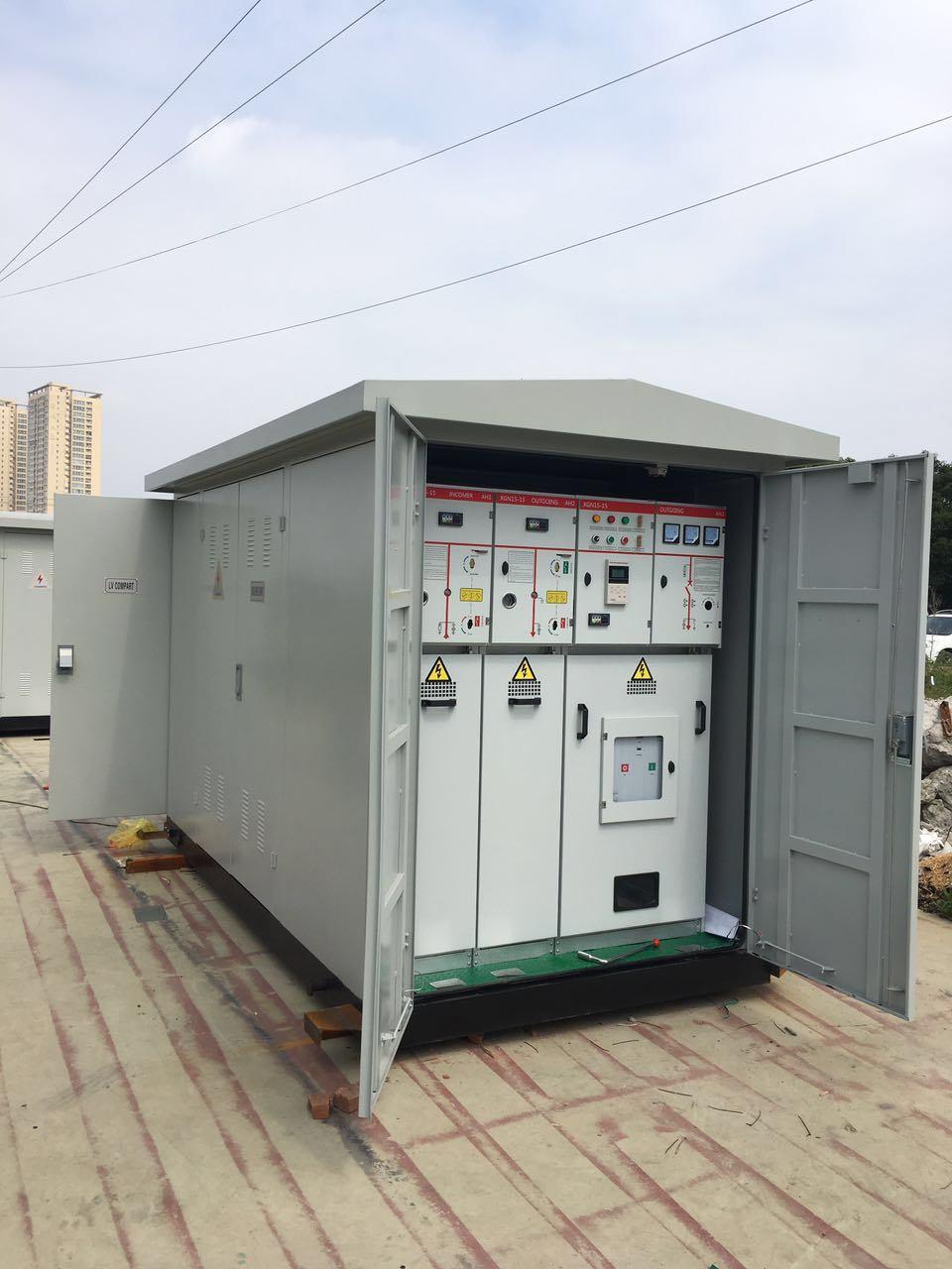 Compact Transformer Kiosk Power Substation