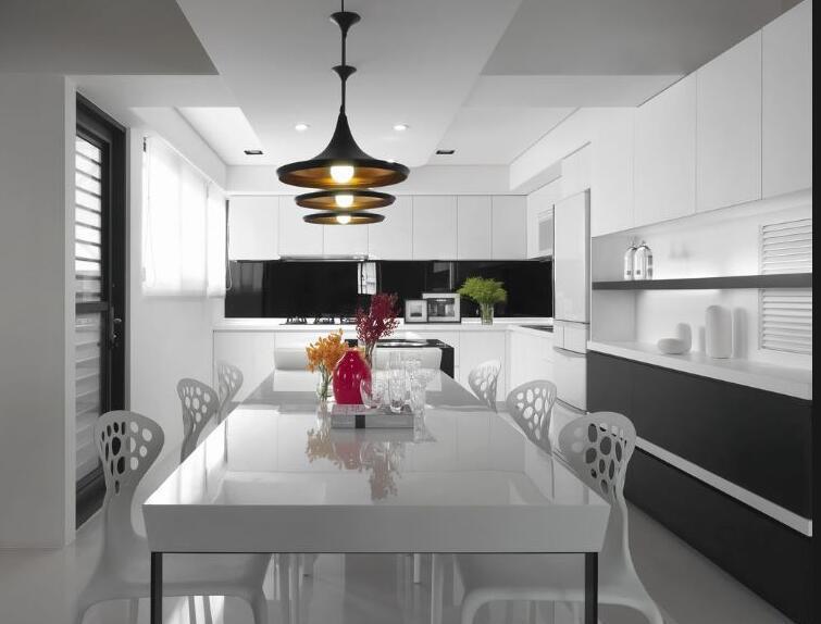 2017 Modern Design High Glossy Home Furniture Kitchen Cabinet Yb1710536