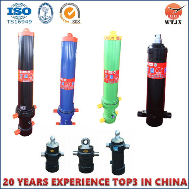 Telescopic Hydraulic Cylinder for Dump Truck with ISO/Ts16949