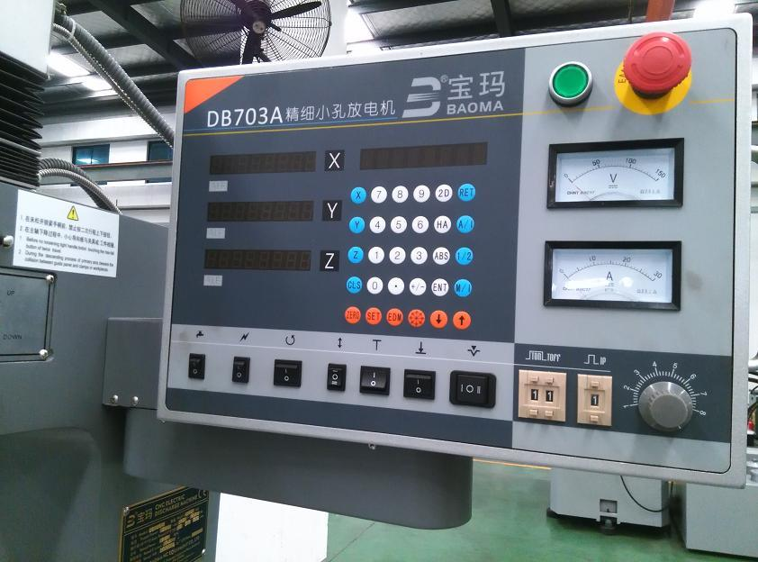 High Speed Small Hole Spark Drilling Machine Bmd703-400