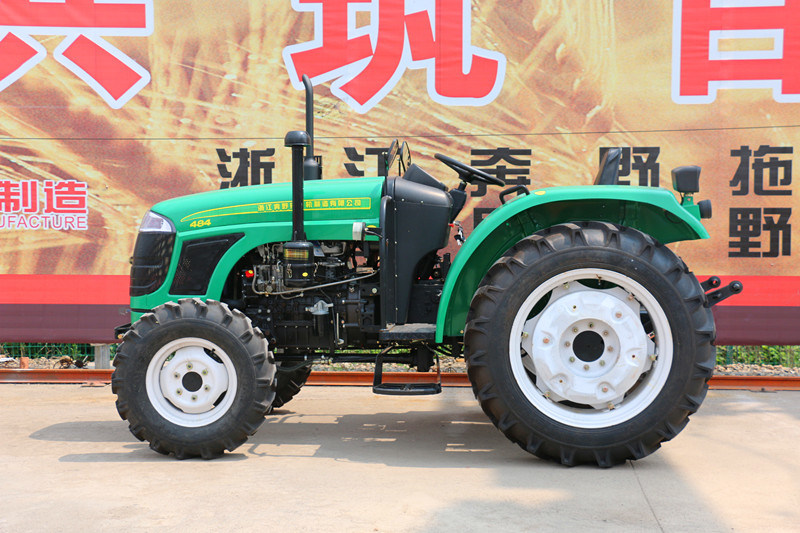 48HP 4WD 484 off-Road Farm Agricultrual Wheel-Type Tractor Factory