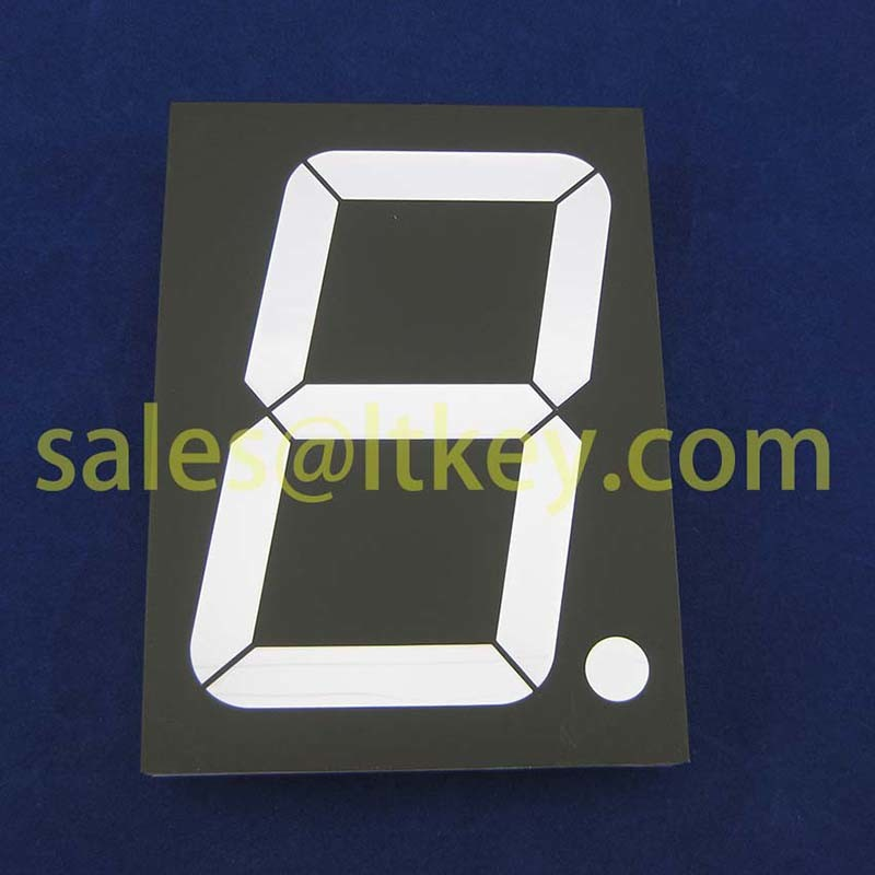 4 Inch Single Digit 7 Segment LED Display