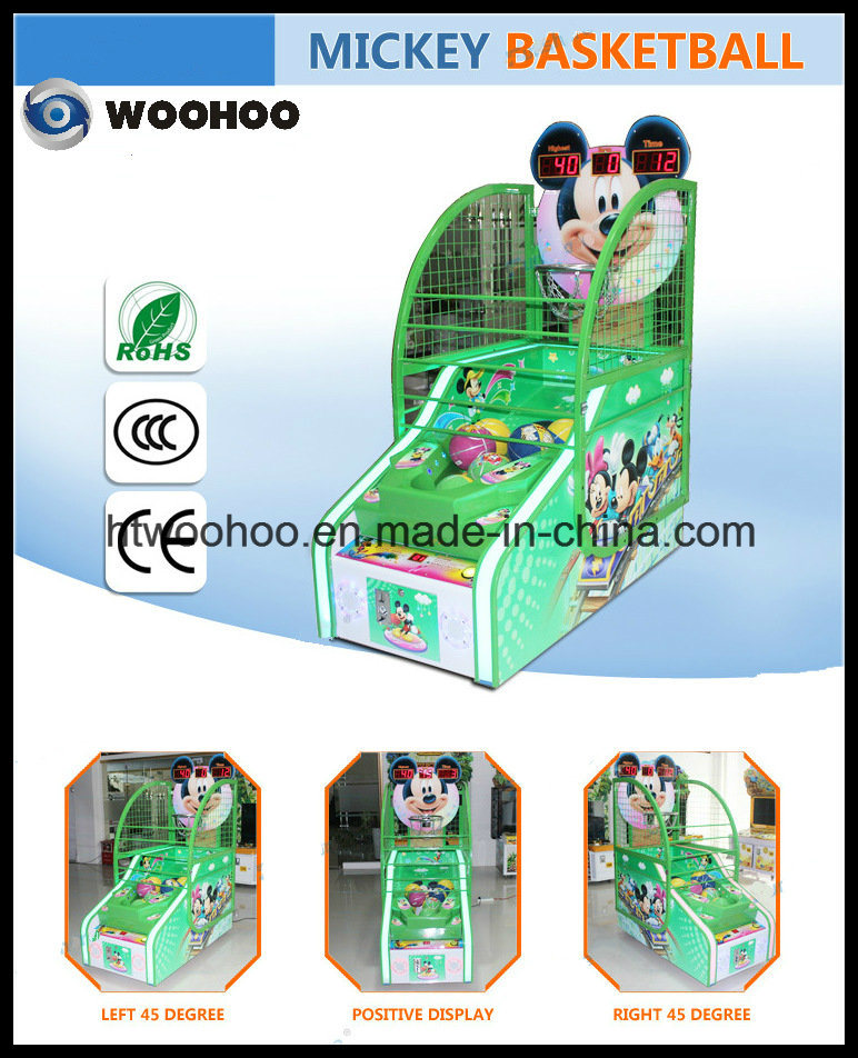Indoor Playground Kids Basketball Game Machine Coin Operated Machine