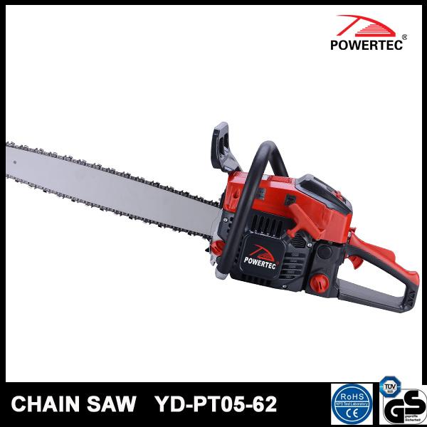 Powertec CE GS Easy Start 62cc Gasoline Chain Saw (YD-PT05-62)