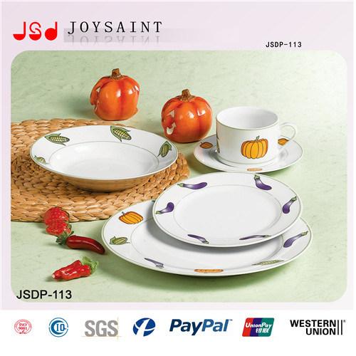 10′′dinnerware Porcelain Dinnerware Ceramic Dinner Set for Restaurant