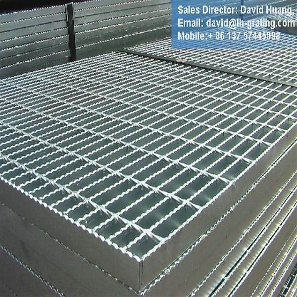 Galvanized ASTM A36 Steel Grating for Platform