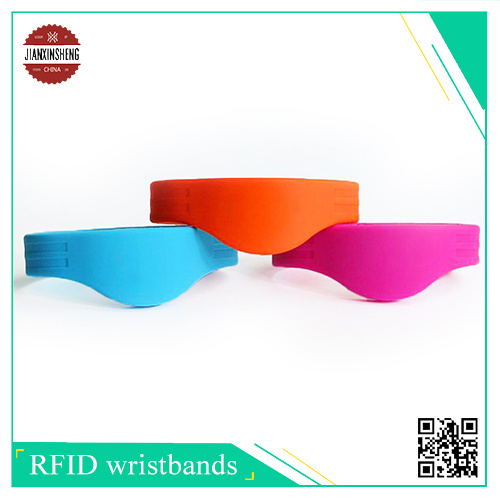 RFID Silicone Bracelets, with 1k S50 Chip