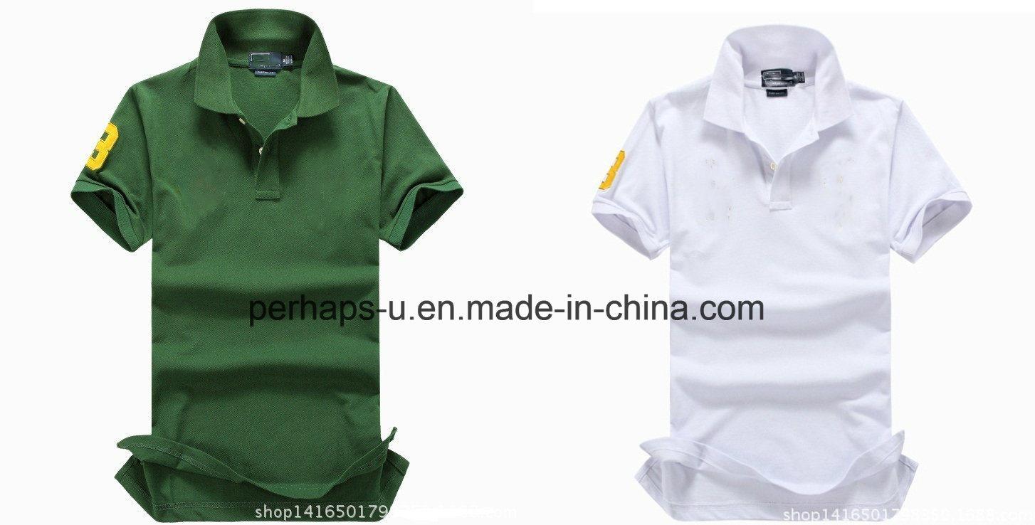 Fashion Mens Cotton Pique Golf Polo Shirt