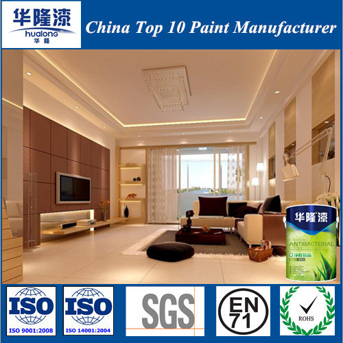 Hualong Price Competitive Healthy Emulsion Paint for Building Project