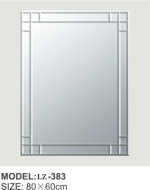 Sliver Mirror in The Bathroom for Make up Dressing