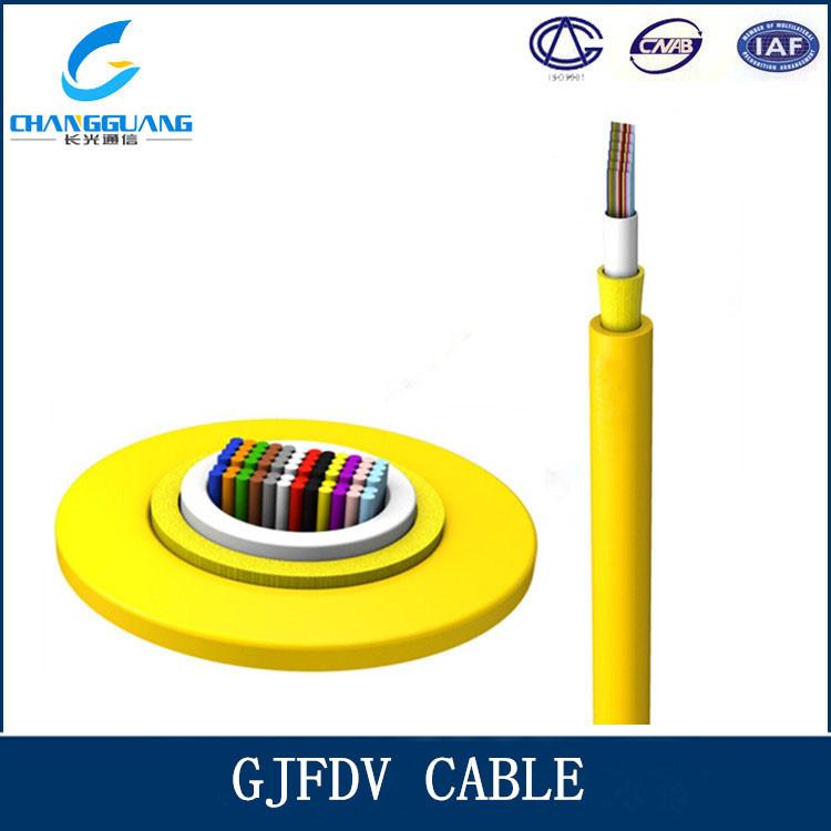 Cable Network 12 Core Single/Multi Mode Fiber Optic Cable Price Per Meter Gjfdv
